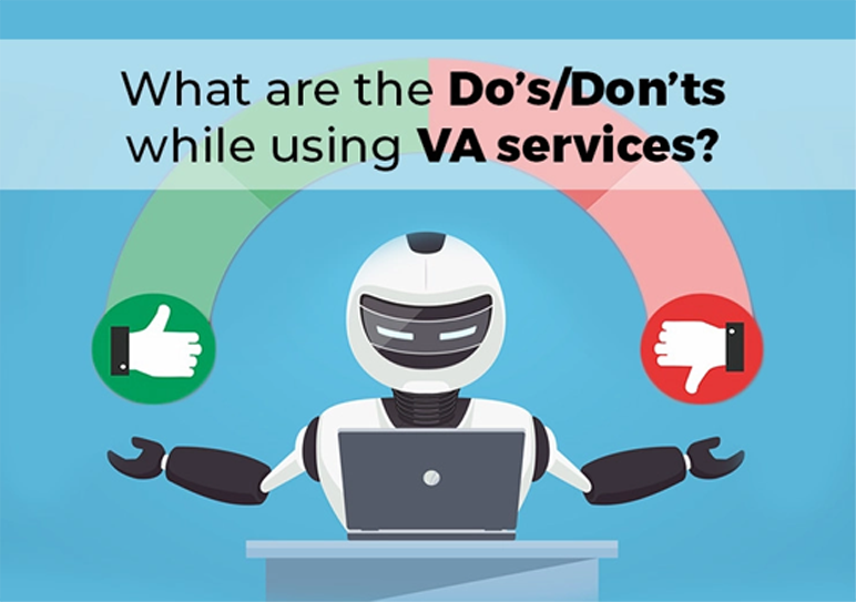 What are the Do's/Don'ts While using VA services?
